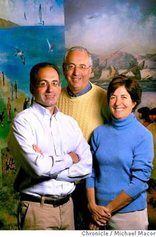 � haas_184_mac.jpg Wally Haas Jr., Bob Haas and Betsy Haas. The legacy of the Haas (Levi-Strauss) family. Bob Haas, Betsy Haas and Wally Haas Jr. are trustees for the Haas Family Fund, which gives away about $30 million a year, and recently made a $15 million grant to build a new campground and trails in the presidio. . Photographed in, San Francisco, Ca, on 5/30/07. Photo by: Michael Macor/ The Chronicle Mandatory credit for Photographer and San Francisco Chronicle No sales/ Magazines Out Photo: Michael Macor