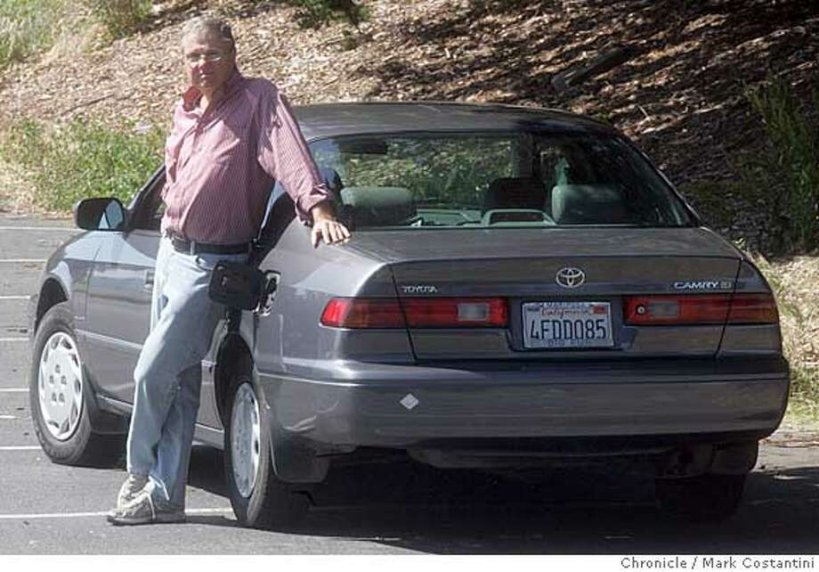 "Another in the CARS Section ""My Ride"" series, this time about Tom DeVries and his Camry. The twist is that a mouse got up into the nether regions of the gas tank and ate a gas recovery hose, thereby screwing up the car. It's a funny tale about repairing the whole thing in rural California. PHOTO: Mark Costantini / The Chronicle Ran on: 07-01-2007  Tom DeVries was concerned when the idiot light glowed yellow. His mechanic solved the problem -- a vapor-recovery tube eaten by a mouse.  Ran on: 07-01-2007 Ran on: 07-01-2007 Ran on: 07-01-2007 Photo: MARK COSTANTINI"
