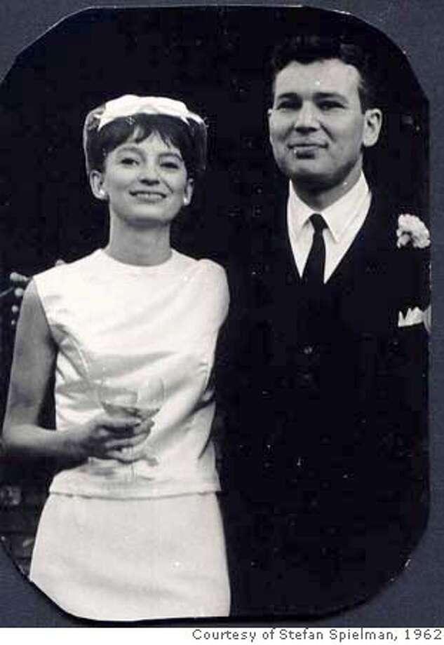 Sheila Ballantyne and Philip Spielman on their wedding day in 1962.  photo courtesy Stefan Spielman Photo: Photo Courtesy Stefan Spielman