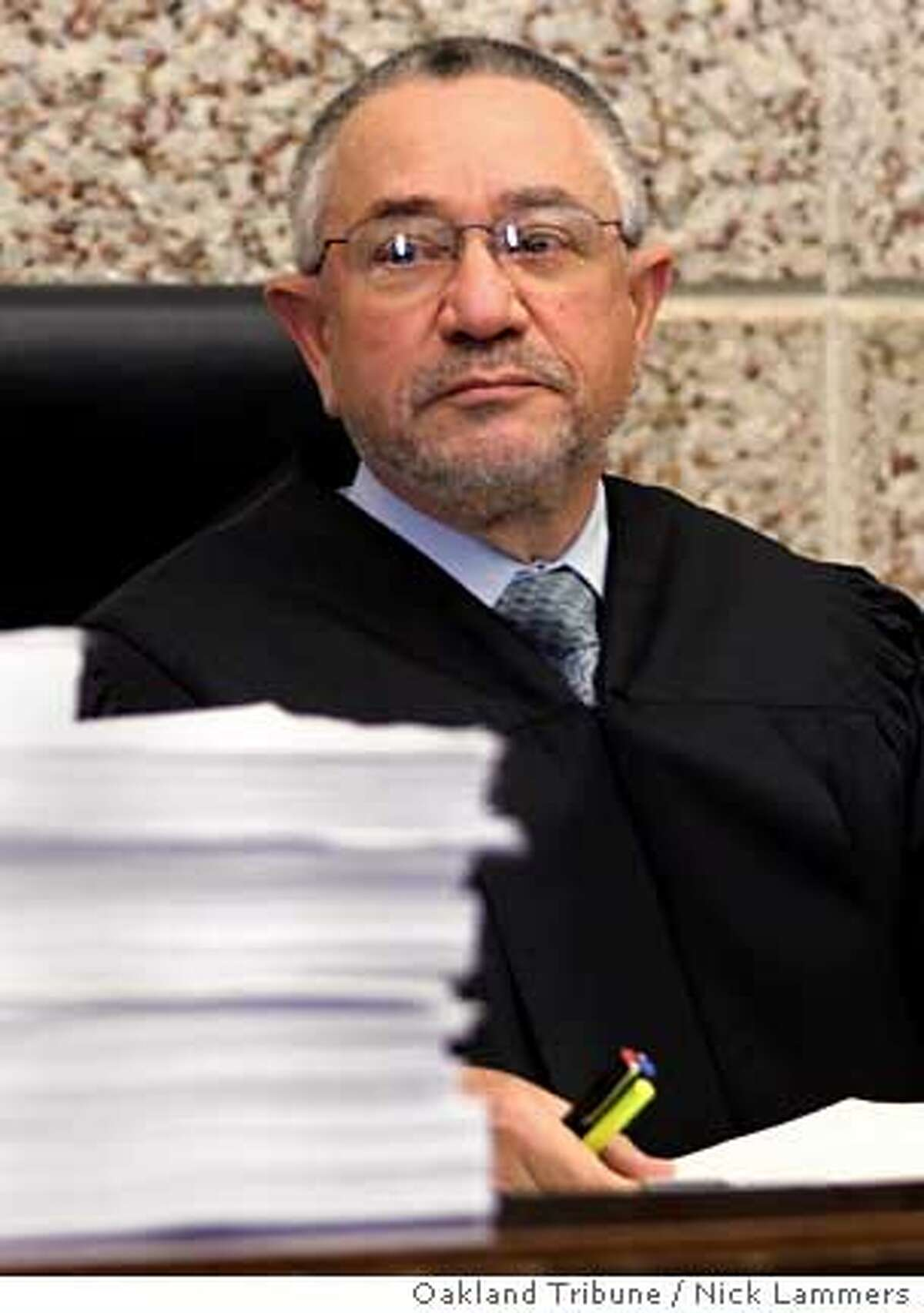 Alameda County State Censures Judge But He Can Keep Job Jurist Repeatedly Missed Deadlines Signed False Affidavits