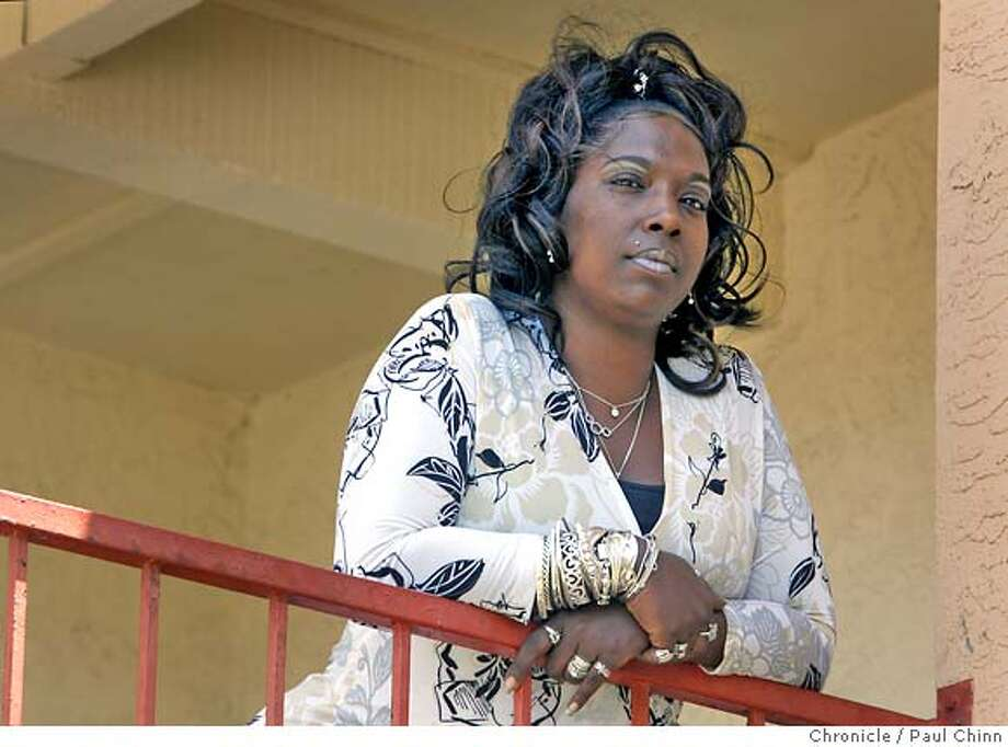 """Regena Grant, manager of the Smith House/Smith Ryan Detox Center, on Treasure Island in San Francisco, Calif. on Wednesday, May 16, 2007. A new book, """"Not In My Family"""", has been published about the AIDS epidemic in the African American community.  PAUL CHINN/The Chronicle  **Regena Grant MANDATORY CREDIT FOR PHOTOGRAPHER AND S.F. CHRONICLE/NO SALES - MAGS OUT Photo: PAUL CHINN"""
