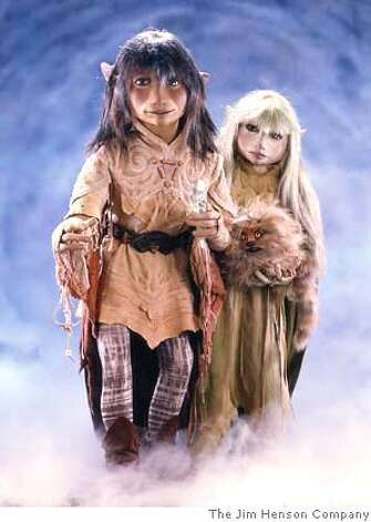 The protagonists Jen and Kira of The Dark Crystal  HO from The Jim Henson Company Photo: The Jim Henson Company