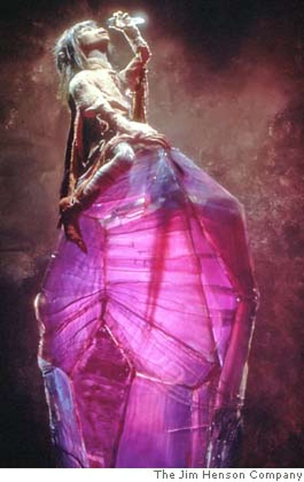 The protagonist Jen of The Dark Crystal HO from The Jim Henson Company