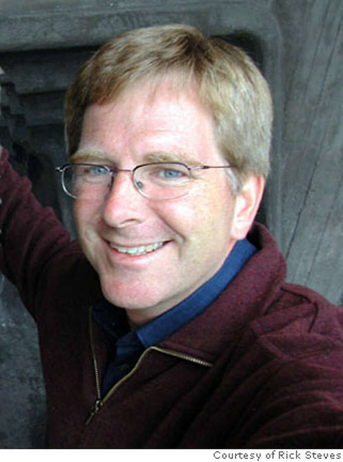 photo: courtesy: rick steves caption: rick steves.  Ran on: 06-24-2007  Rick Steves: He's not an ugly American. Photo: Courtesy Rick Steves