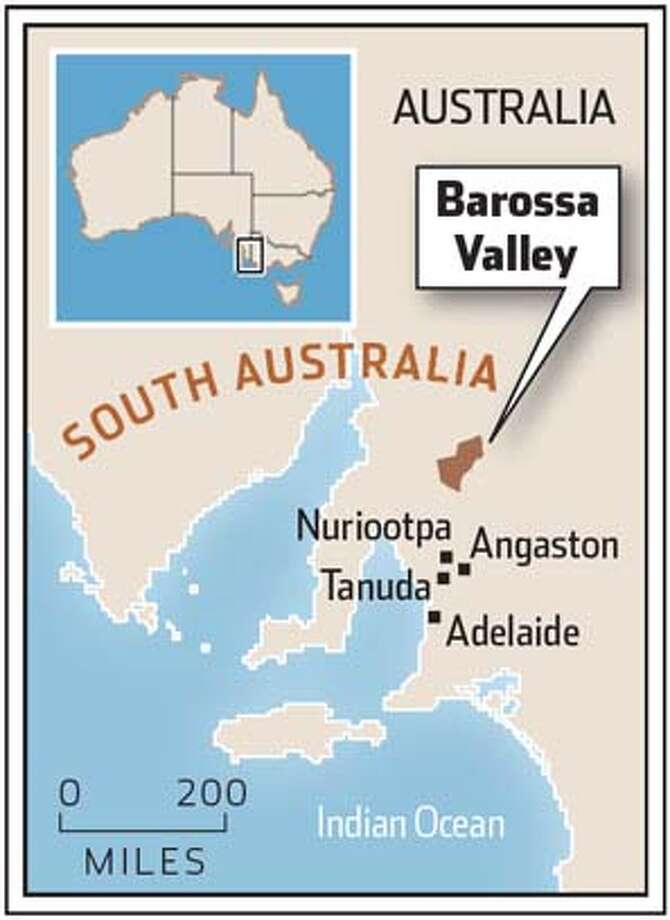 Barossa Valley, Australia.