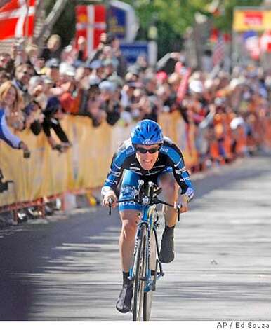 Leipheimer won the Tour of California in February and is readying for the Tour de France, which starts next month. Associated Press file photo by Ed Souza