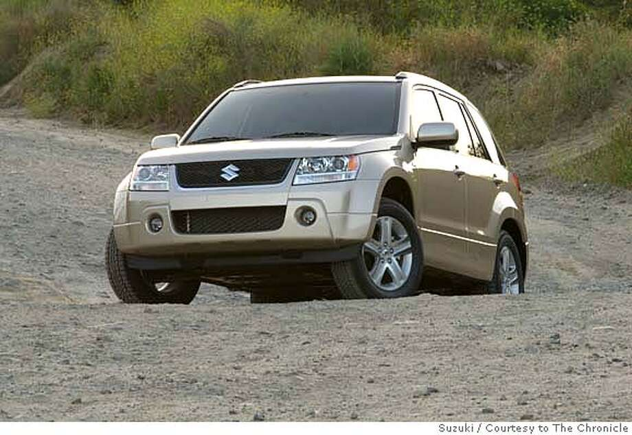 2007 Grand Vitara. Suzuki / Courtesy to The Chronicle  Ran on: 06-22-2007 Ran on: 06-22-2007 Ran on: 06-22-2007 Ran on: 06-22-2007 Photo: Suzuki