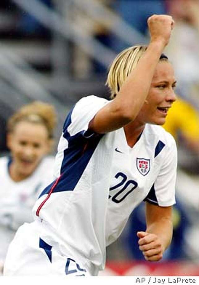 WAMBACH Photo: JAY LAPRETE