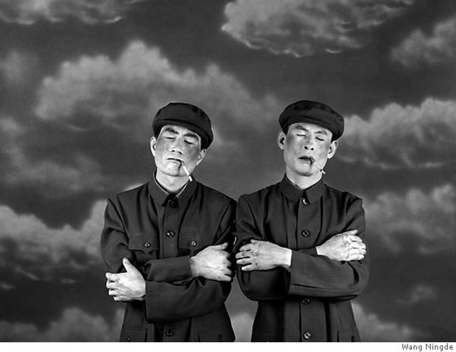 "Images from ""Some Days"", an exhibit of Wang Ningde's photographs Photo: Wang Ningde"