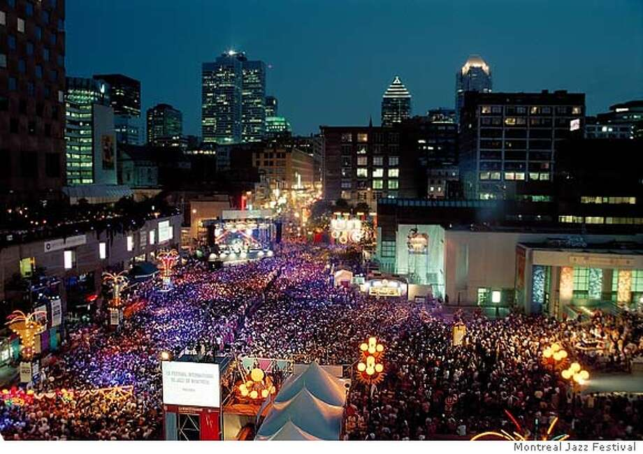 � Downtown Montreal comes alive each summer hosting the Montreal Jazz Festival. Photo Courtesy of Montreal Jazz Festival Photo: Ho