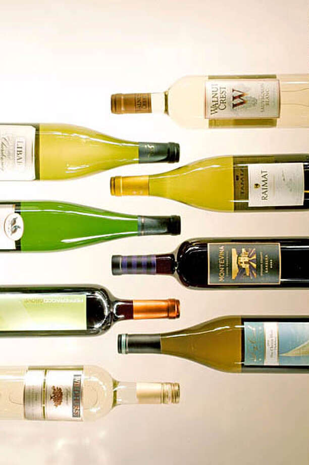 Wine section's favorite bargain wines of 2005. Event on 12/20/05 in San Francisco. Craig Lee / The Chronicle Photo: Craig Lee