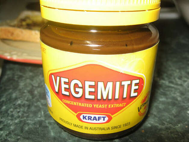 Australia: Vegemite. If you have the shakes, this yeasty spread offers some vitamin B. Photo: G Kat 26, Flickr Creative Commons
