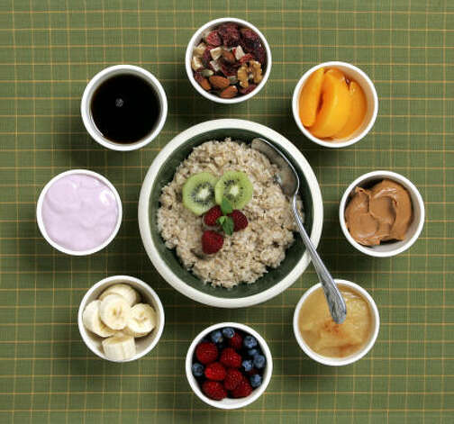 U.S.: Oatmeal. Plain or with the topping of your choice, it is an easy-to-tolerate morning-after breakfast. Photo: NICK KOON, MCT