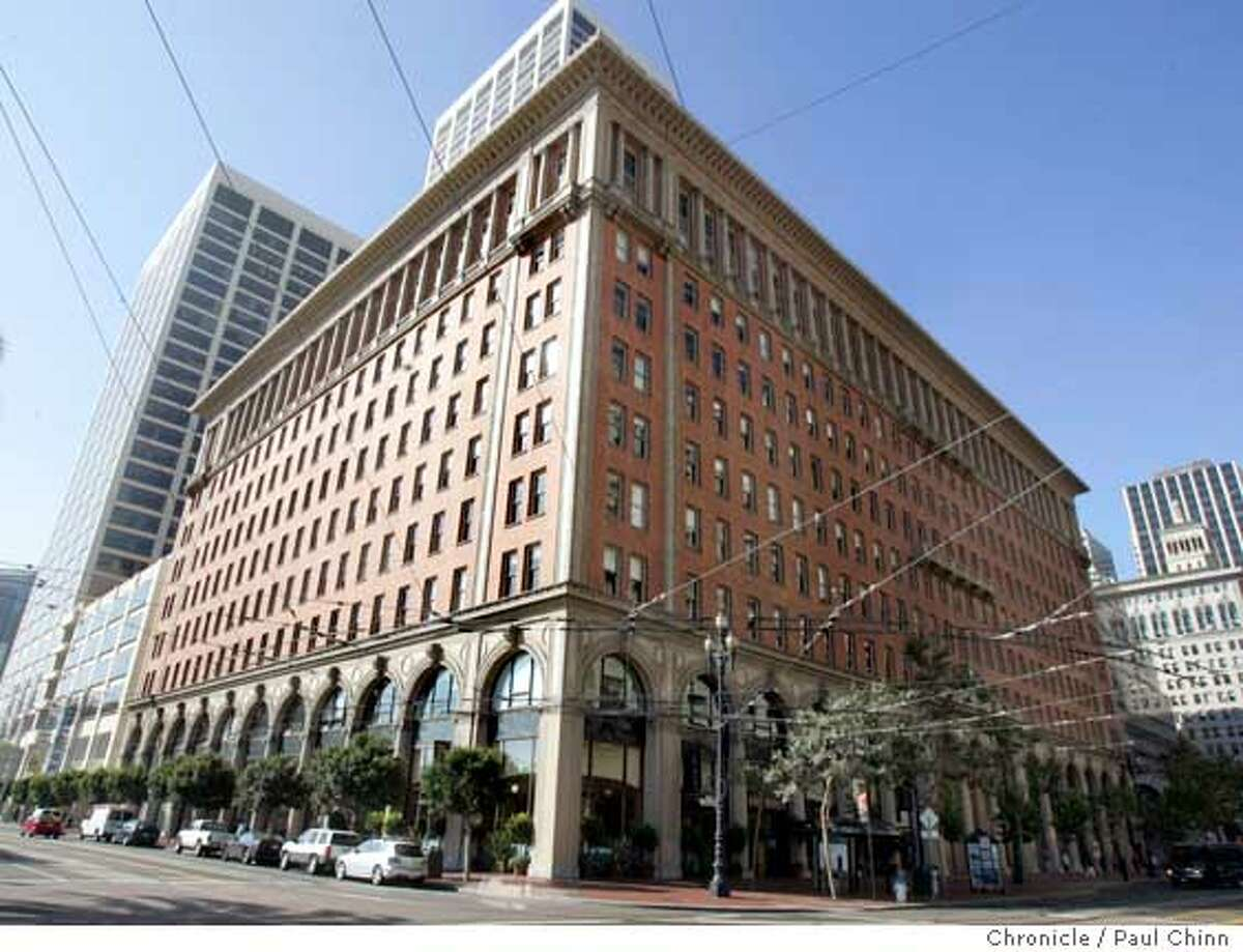 One Market St. Several Financial District commercial office buildings have recently been sold. They're photographed here on 8/11/05 in San Francisco, Calif. PAUL CHINN/The Chronicle