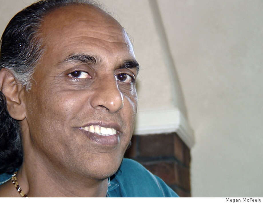 "Prashant Michael Rao is a devotee of Mata Amritanandamayi, aka ""Amma"" (Mother). Photo by Megan McFeely"