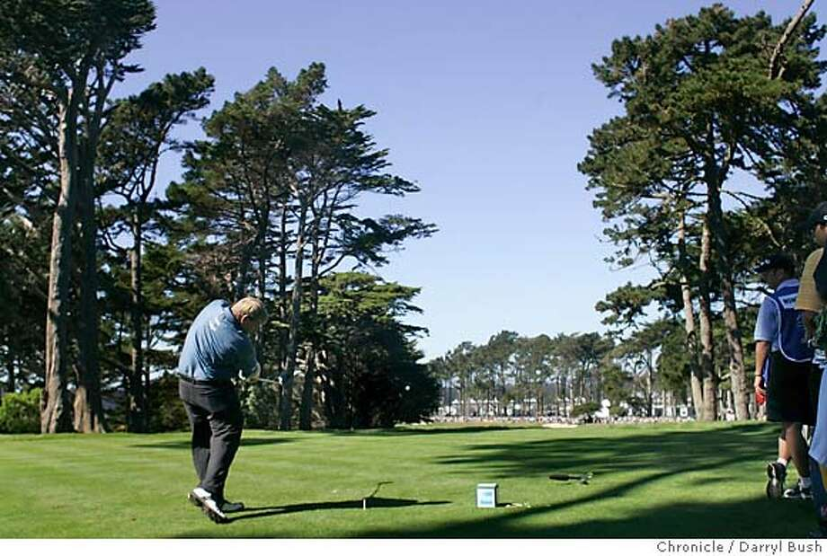 American Express Championship at Harding Park Golf Course.  Event on 10/9/05 in San Francisco.  Darryl Bush / The Chronicle Photo: Darryl Bush