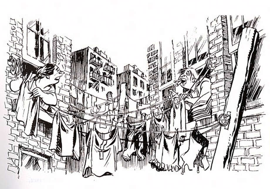"Exploring urban neighborhood themes such as prejudice against newcomers, Will Eisner produced some of his most mature graphic novels. From ""The Contract With God Trilogy"""