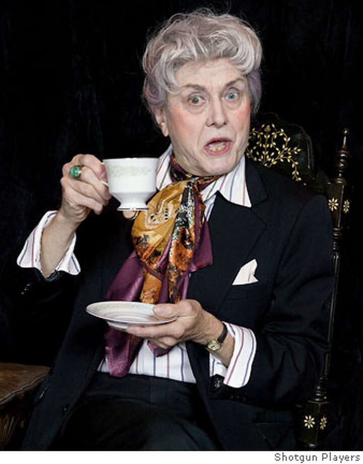 "Richard Louis James performs as Quentin Crisp in his original solo piece, ""Tea N Crisp,"" running Thursday through Saturday at the Ashby Stage in Berkeley. Ran on: 06-17-2007  Richard Louis James plays Quentin Crisp in his original solo work, &quo;Tea 'N Crisp.&quo; Photo: Shotgun Players"