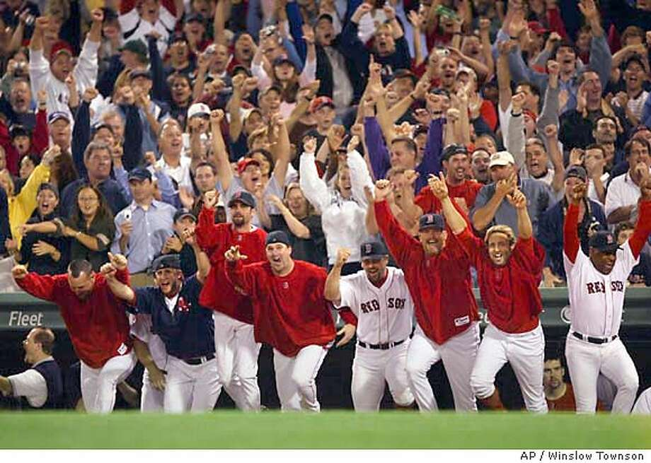 RED SOX Photo: WINSLOW TOWNSON