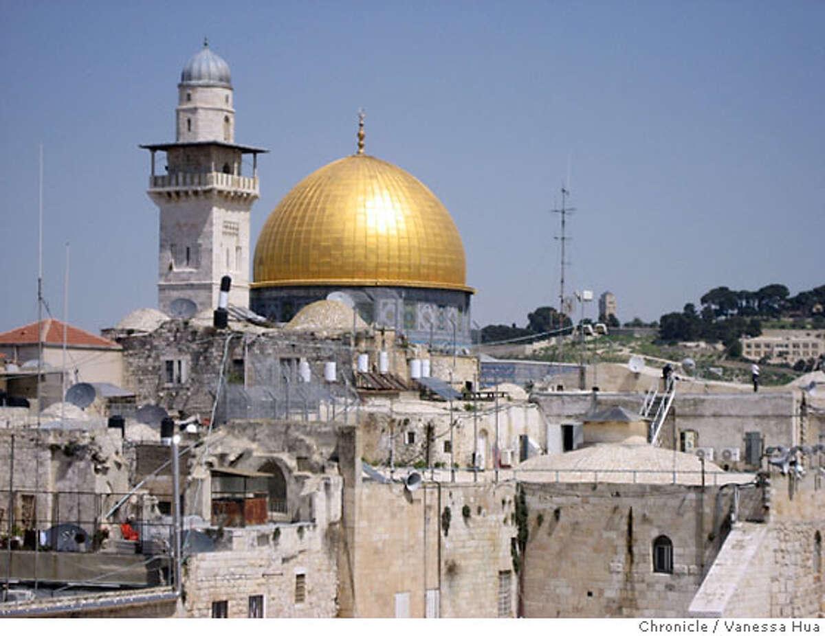 TRAVEL ISRAEL -- Scenes from Israel. on 3/28/07. Vanessa Hua /