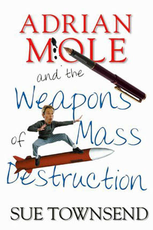 "Book cover art for, ""Adrian Mole and the Weapons of Mass Destruction"" by Sue Townsend. Photo: Cover Art"