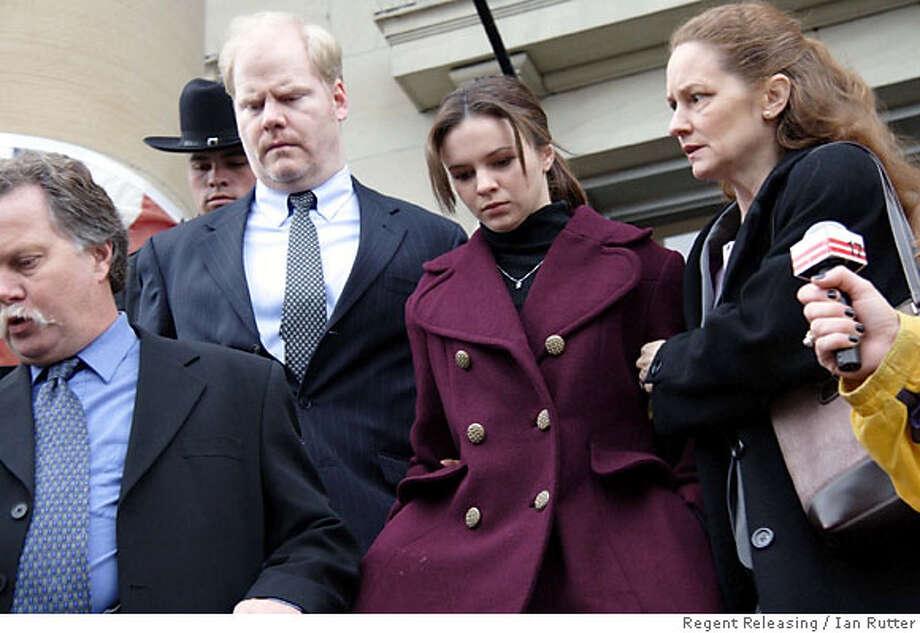 "Jim Gaffigan, Amber Tamblyn and Melissa Leo  in ""Stephanie Daley"" film. Regent Releasing / Ian Rutter  Ran on: 06-17-2007  Jim Gaffigan and Amber Tamblyn in &quo;Stephanie Daley.&quo; Photo: Ian Rutter"