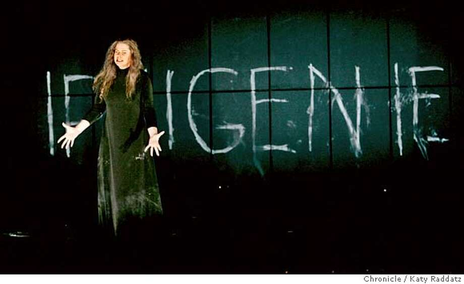 "IPHIGENIE_063_RAD.jpg  SHOWN: Iphigenie is sung by Susan Graham. The San Francisco Opera concludes its short summer season with ""Iphigenie en Tauride."" I These photos were made in San Francisco, CA. on Tuesday, June 12, 2007.  (Katy Raddatz/The Chronicle)  ** Iphigenie en Tauride, Susan Graham Mandatory credit for the photographer and the San Francisco Chronicle. No sales; mags out. Photo: Katy Raddatz"