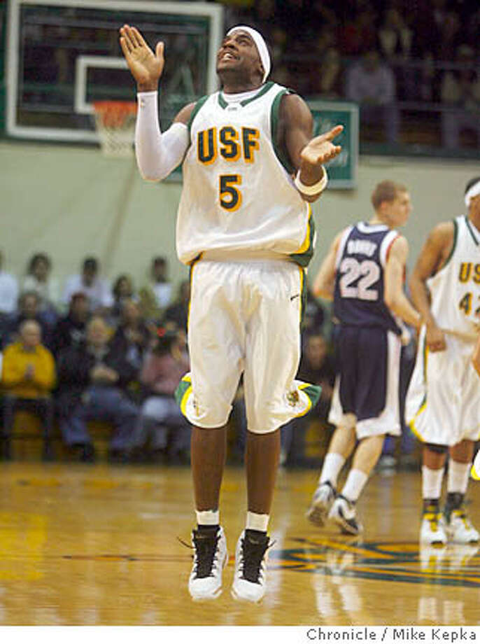 usfmen00061_mk.JPG  USF's top scorer #5 Antonio Kellogg jumps in excitement during an early lead at the beginning of the 2nd half. USF mens basketball plays against Gonzaga University at War Memorial Gym on Saturday 2/24/07. Gonzaga won in overtime 79-86.  Mike Kepka / The Chronicle Antonio Kellogg (cq) roster  Ran on: 03-07-2007  Guard Antonio Kellogg has a full season of play with USF, and the Dons' backcourt should improve with the experience.  Ran on: 03-07-2007 Ran on: 06-15-2007  Antonio Kellogg would have been a fourth-year junior.  Ran on: 06-15-2007 Ran on: 06-15-2007 Photo: Mike Kepka