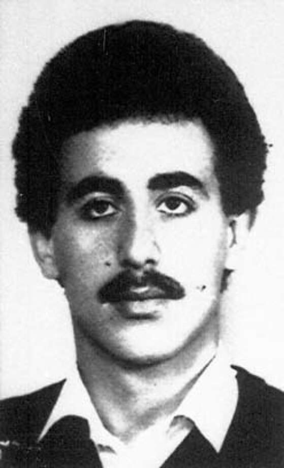 ** FILE ** RETRANSMISSION FOR IMPROVED QUALITY ** Convicted terrorist Mohammed Ali Hamadi, seen in this undated file photo, has been paroled by German authorities after serving 19 years of a life sentence for the 1985 hijacking of a TWA airliner and the killing of US Navy diver Robert Stethem, a German law enforcement official said in Berlin, Germany, Tuesday Dec. 20, 2006. Hamadi has reportedly returned to his native Lebanon.(AP Photo/file) AN UNDATED FILE PHOTO: B&W ONLY: Photo: File