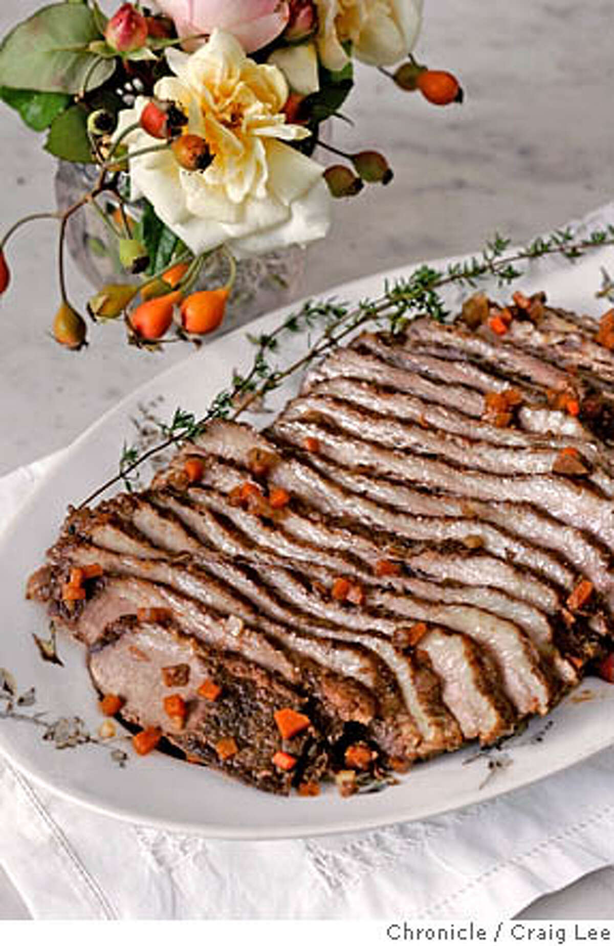BRISKET21_191_cl.JPG Food story on Brisket of Beef. Event on 12/14/05 in San Francisco. Craig Lee / The Chronicle MANDATORY CREDIT FOR PHOTOG AND SF CHRONICLE/ -MAGS OUT