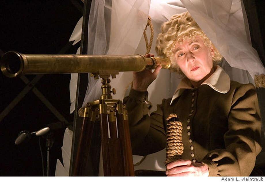 """Gretchen Krich as Mother in Guy Maddin's """"Brand upon the Brain!"""" Photo: Adam L. Weintraub"""
