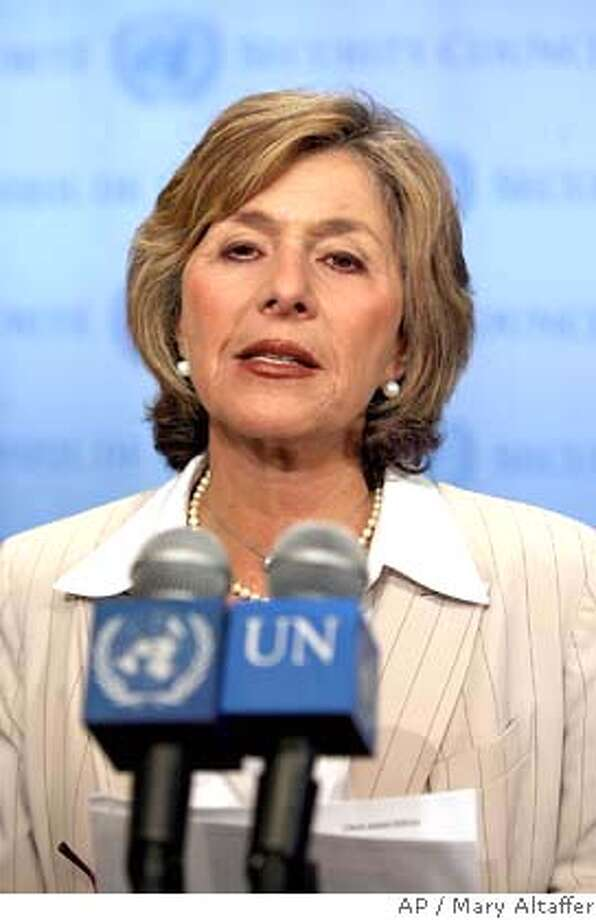 Sen. Barbara Boxer, D-Calif, addresses members of the media about the situation in Darfur at United Nations headquarters, Monday, Sept. 18, 2006. (AP Photo/Mary Altaffer)  Ran on: 09-27-2006  Sen. Barbara Boxer says paper ballots could assuage fraud fears and provide a backup for machines.  Ran on: 09-27-2006 Ran on: 01-13-2007  Barbara Boxer: &quo;You're not going to pay a price {hellip} within immediate family.&quo;  Ran on: 01-13-2007  Barbara Boxer: &quo;You're not going to pay a price {hellip} within immediate family.&quo;  Ran on: 03-02-2007  Sen. Barbara Boxer invited state Sen. Don Perata and other legislators from around the nation to speak to Congress.  Ran on: 03-02-2007  Sen. Barbara Boxer invited state Sen. Don Perata and other legislators from around the nation to speak to Congress.  Ran on: 03-02-2007  Sen. Barbara Boxer invited state Sen. Don Perata and other legislators from around the nation to speak to Congress.  ALSO Ran on: 05-03-2007  Sen. Barbara Boxer Photo: MARY ALTAFFER