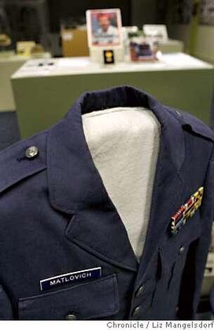JPG The uniform of Vietnam Vet Leonard Matlovich, who fought the US military ...