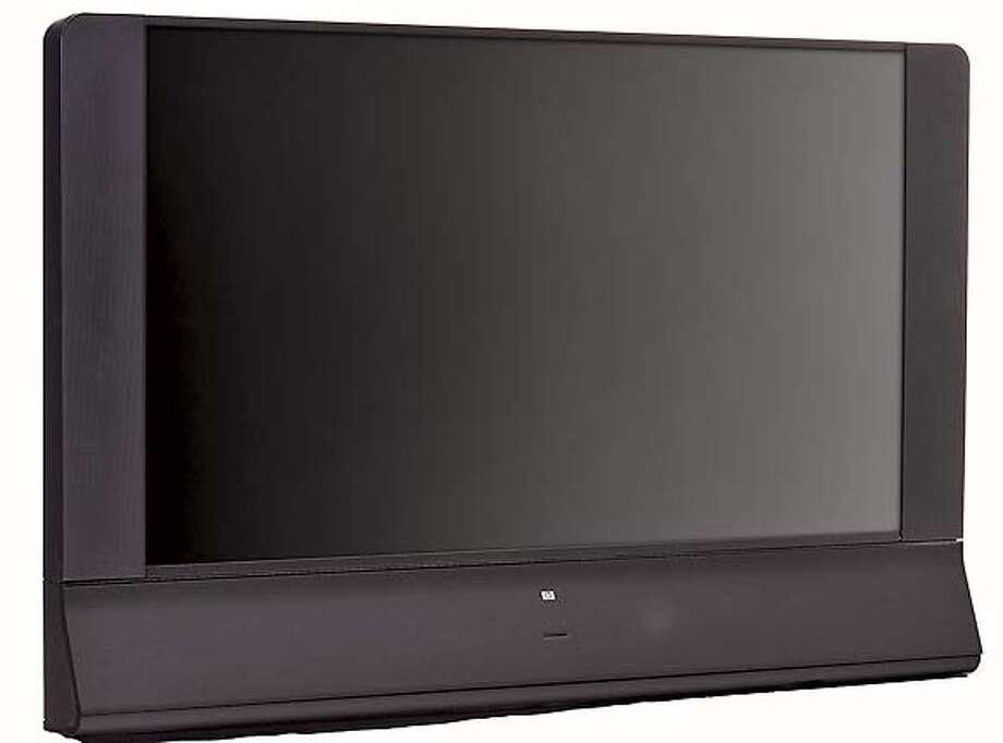 Hard-core high-def: 1080p HDTVs, HP-MD6580N Photo: ZxZx