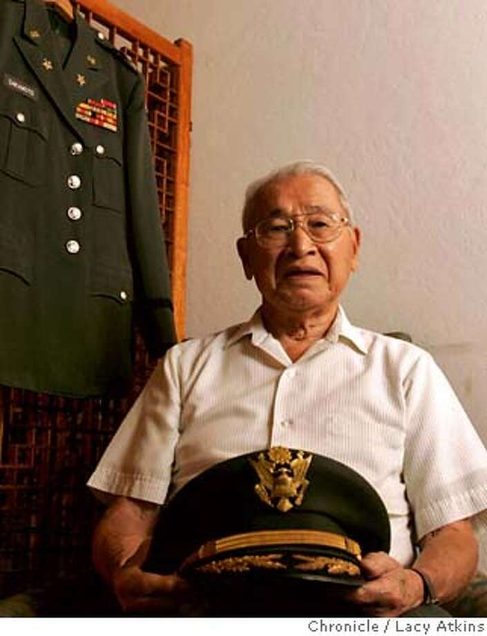 Tom Sakamoto, 89 years old, was a colonel staf officer in the army, during World War II, Sunday June 10, 2007, at his home in Saratoga, Ca. Even as their relatives were being imprisoned in internment camps during World War II Japanese Americans were working to support U.S. armed forces in a secret language school at the Presidio. (Lacy Atkins /San Francisco Chronicle) MANDATORY CREDITFOR PHOTGRAPHER AND SAN FRANCISCO CHRONICLE/NO SALES-MAGS OUT Photo: Lacy Atkins