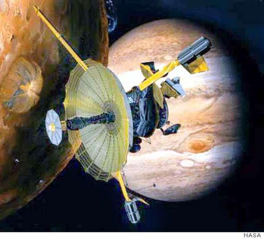 Galileo spacecraft closing in for death plunge to Jupiter ...