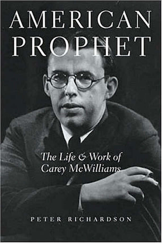 """Book cover art for, """"American Prophet."""" Photo: Ho"""