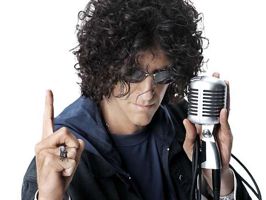 Photos for an interview with Howard Stern. Photo by Sirius Radio Photo: Capture