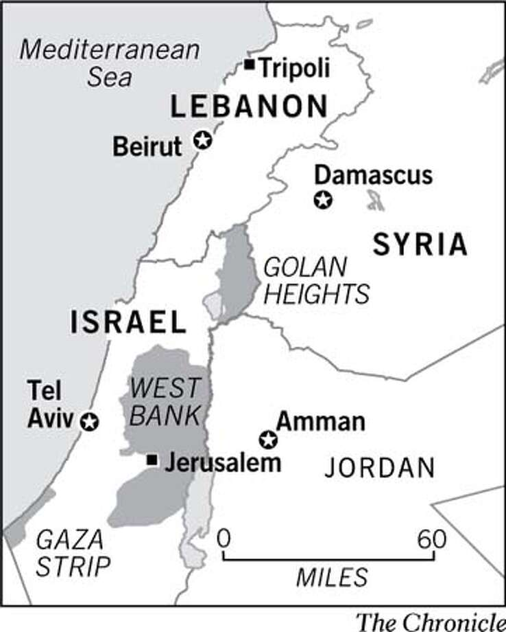 (A22) Map of West Bank