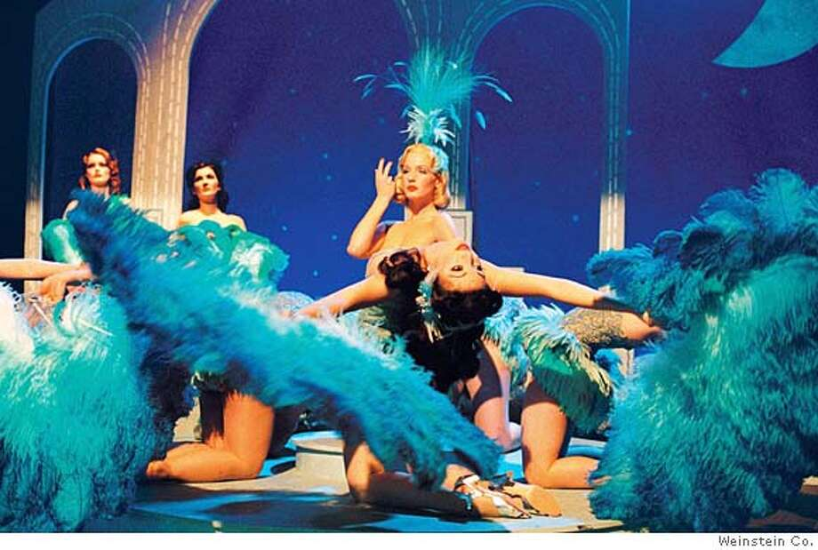 Kelly Reilly in Mrs. Henderson Presents Ran on: 12-18-2005  Kelly Reilly (center) is Maureen in &quo;Mrs. Henderson Presents,&quo; a fact-based movie about a risque London revue. Photo: The Weinstein Co.