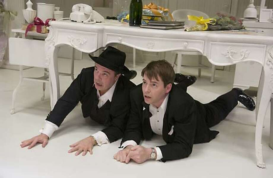"Nathan Lane and Matthew Broderick in ""THe PRoducers"" Photo: Universal"