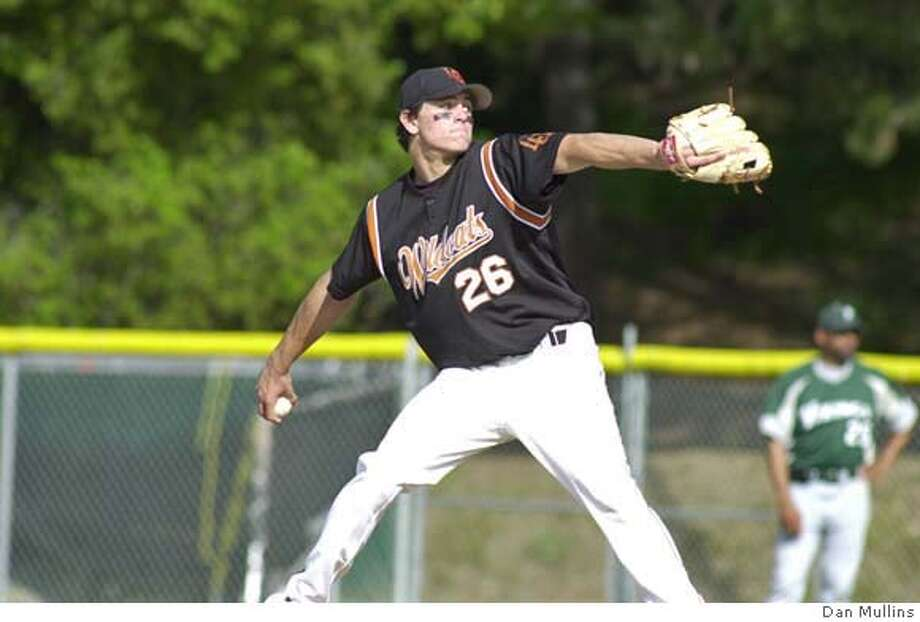 Los Gatos High senior pitcher Kyle Blair, to be used with story slugged baseball scheduled to run Saturday june 9, 2007 or early next week. Photo credit: Dan Mullins Photo: Dan Mullins