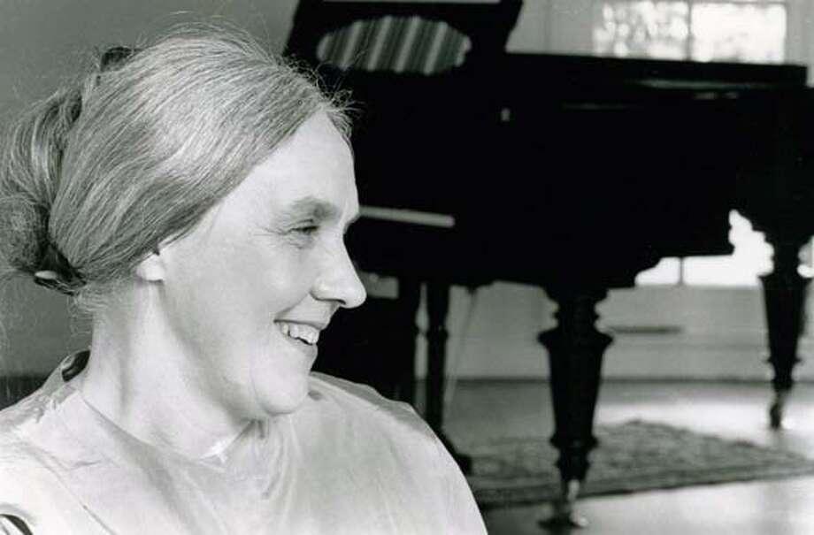 Obituary photo of pianist Barbara Shearer. Photo: Ho