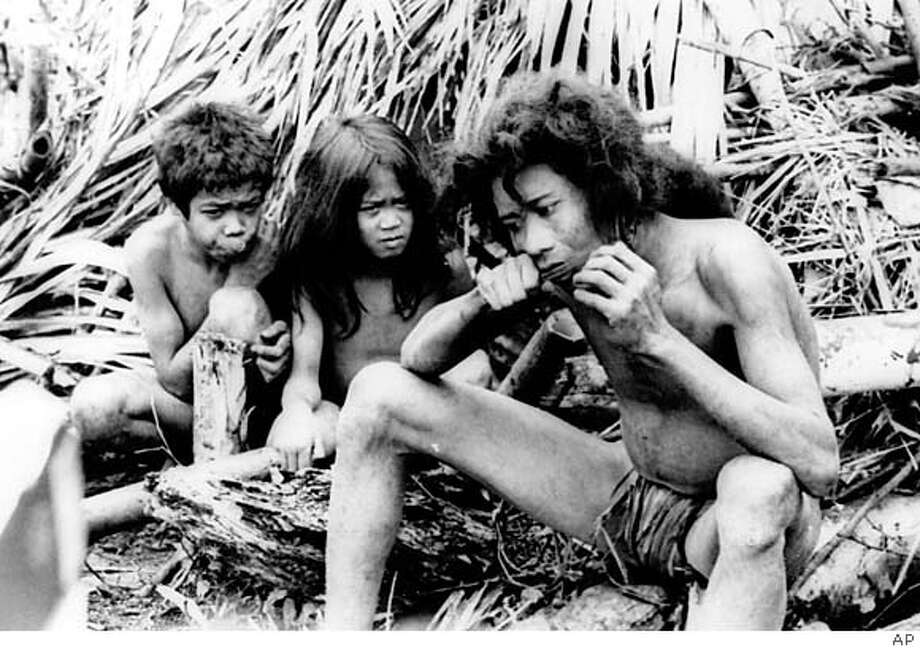 Back in the summer of 1971, the international media couldn't seem to get enough of the supposed stone age Tasaday tribe. Associated Press photo