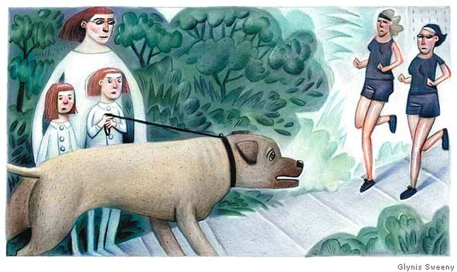 Illustration by Glynis Sweeny for MY WORD column in 6-10-07 issue of Sunday magazine Photo: Glynis Sweeny