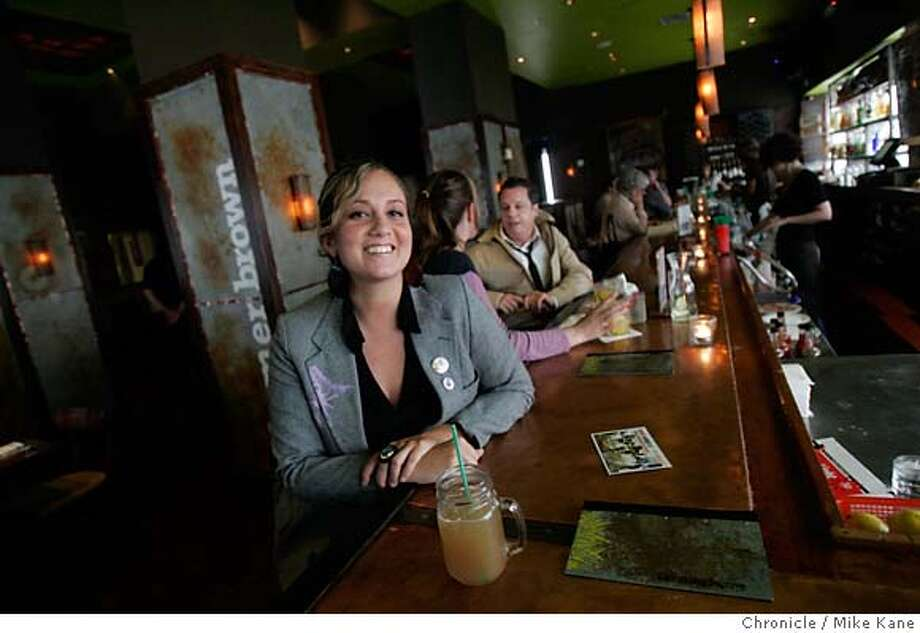 ONTHETOWN_FAKOURI_008_MBK.JPG  Madrone Lounge owner Leila Fakouri at Farmer Brown's in San Francisco, CA, on Wednesday, May, 9, 2007. photo taken: 5/9/07  Mike Kane / The Chronicle ** Leila Fakouri MANDATORY CREDIT FOR PHOTOG AND SF CHRONICLE/NO SALES-MAGS OUT Photo: MIKE KANE
