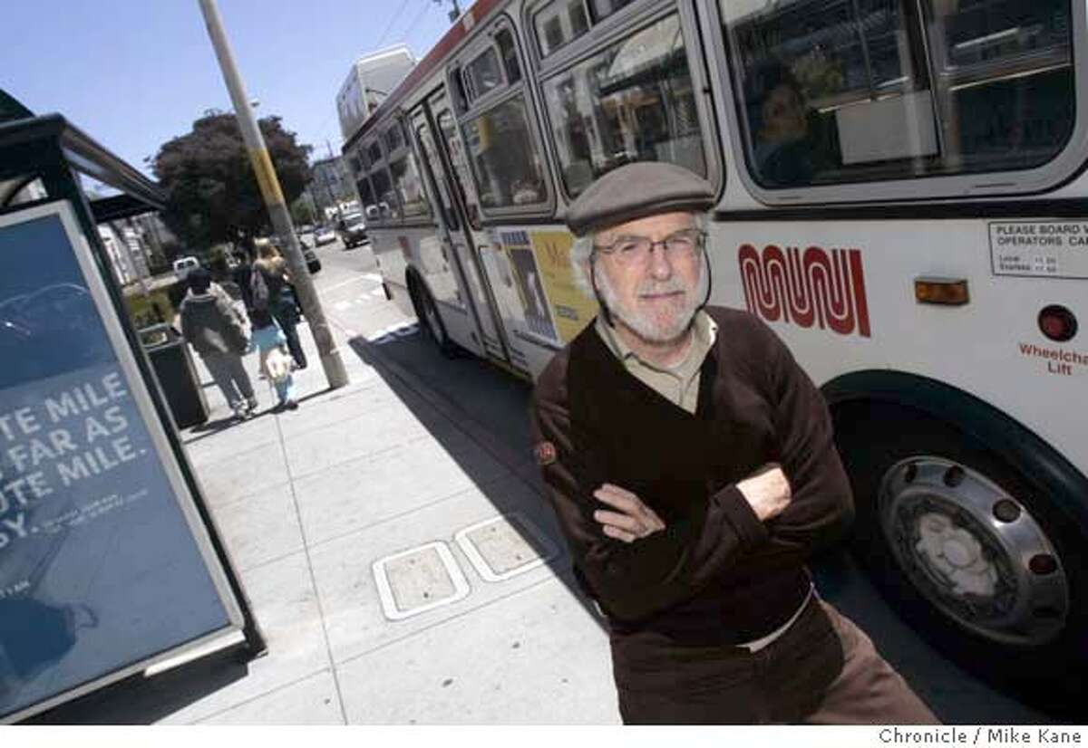 MUNI10_REARDON_143_MBK.JPG Muni driver David Reardon before his shift in San Francisco, CA, on Friday, June, 8, 2007. photo taken: 6/8/07 Mike Kane / The Chronicle *david reardon MANDATORY CREDIT FOR PHOTOG AND SF CHRONICLE/NO SALES-MAGS OUT