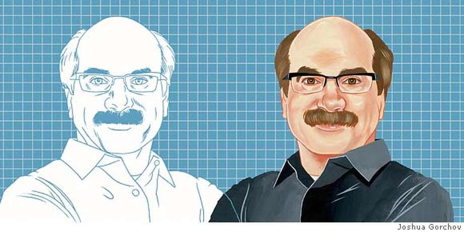 Illustration of David Kelley for BRIGHT IDEAS in 6-1-007 issue of SUNDAY MAGAZINE
