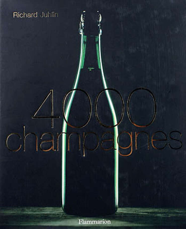 "winebook01_012_el.JPG ""Champagne 4000"" by Richard Juhlin. Published by Flammarion, released Sept. 1, 2005.  Event on 8/10/05 in San Francisco Eric Luse / The Chronicle Photo: Eric Luse"