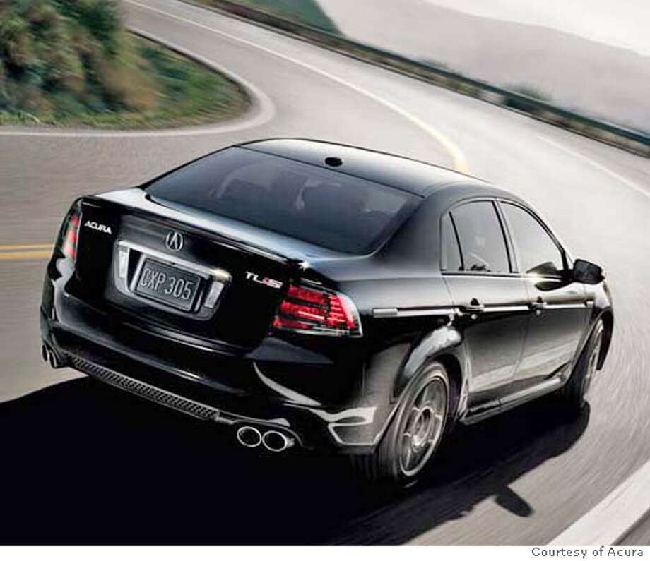 Acura Tl 08 Type S: The Type-S / Acura's TL Variant: Solid And Sporty